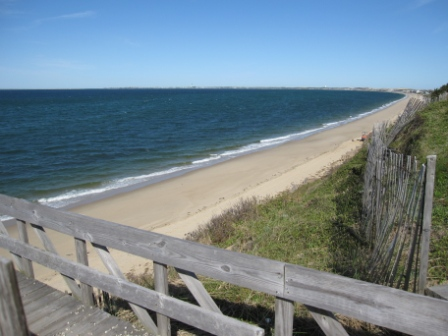Lookout Bluff, view of Cape Cod Bay