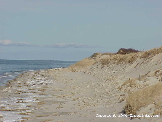 chapin beach in winter