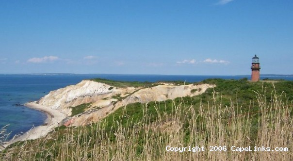 Aquinnah Cliff and Lighthouse