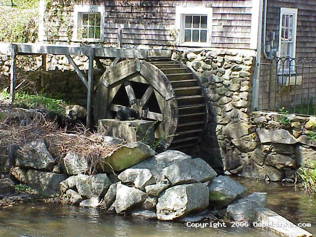 grist mill in brewster