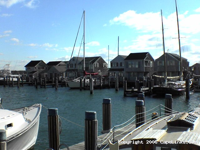 Nantucket Harbor Scene
