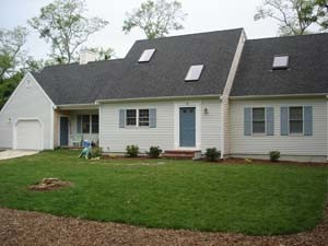 Front view of house brand-new-four-bedroom-home-for-rent-in-eastham-ma_kotsaj